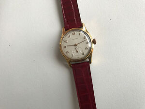VERY NICE REPUTABLE VINTAGE ZENITH MEN'S WRIST WATCH
