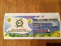 Three Clonefest tickets for 21st July at Sherdley Park St Helens