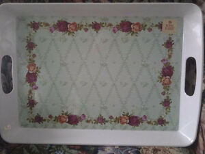 LARGE ROYAL ALBERT SERVING TRAY ONLY 2 LEFT