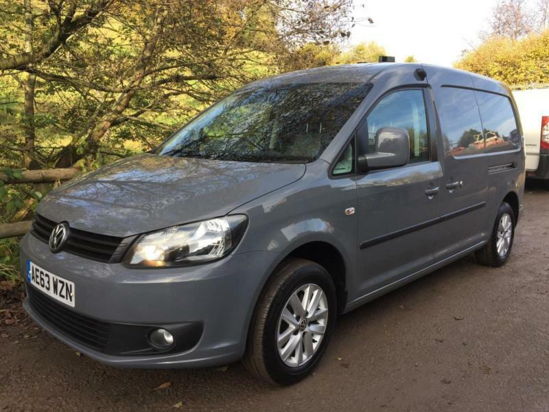 2013 13 vw caddy maxi 1 6 tdi 102ps c20 highline van 50k. Black Bedroom Furniture Sets. Home Design Ideas