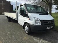 Ford Transit T350 3.5T. XLWB **Extra Long 20FT (6M)** Dropside, Brand New Body