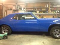 69 mustang coupe project.