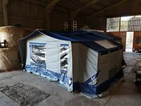 Raclet Jasmin Trailer Tent - excellent condition and ready to go camping with