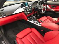2016 16 ref BMW 420d M Sport Convertible + RED LEATHER + M PERFORMANCE KIT