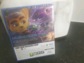 Ps5 GAME Rachet and clank rift apart