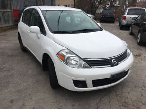 "2009 NISSAN VERSA "" LOW KM/NO ACCIDENT/CERTIFIED/2YR WARANTY IN"""