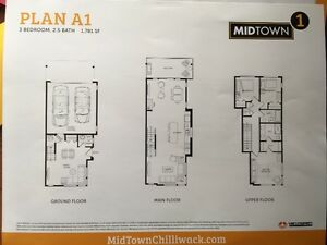 MidTown Residential New Townhouse for Rent