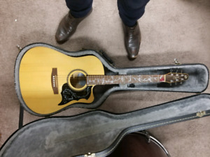 Acoustic / Electric seagul s6 with case