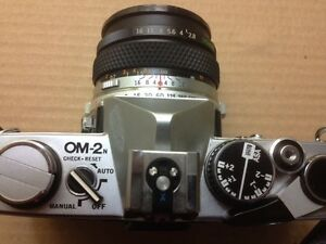 Olympus OM-2N 35mm SLR Camera with case Cambridge Kitchener Area image 5