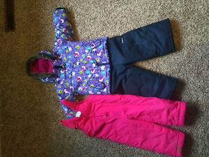 For Sale: girls size 3T snow suit, and extra pants