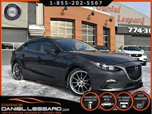 Mazda Mazda3 GS SEDAN, AUTO, TOIT, LOOK MAZDASPEED !!!  2016