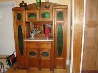 Vintage French Country Cabinet