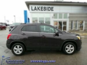 2015 Chevrolet Trax 1LT  - one owner - local - trade-in - non-sm