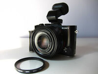 Sony RX1 camera + EVF trade for Sony A7s or Leica M8