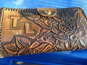 Ladies leather wallet personalized TL Gatineau Ottawa / Gatineau Area image 1