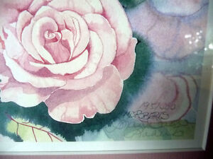 "L/Edition, Hand Signed, Mary-Dawn Roberts, ""Victorian Roses"" Stratford Kitchener Area image 5"
