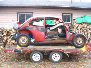 1968 VW 'Performance Bug', 'Rolling Chassis' (Package Deal)