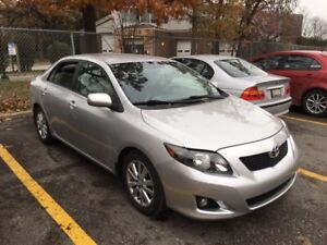 2009 Toyota Corolla LE.. Low km..1owner.. no damages