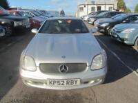 2002 Mercedes-Benz SLK SLK320 Coupe Convertible 3.2V6 218 Tp5 Petrol silver Auto