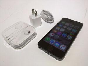 "Apple iphone 5S A1533 Black 16GB Telus"""