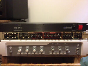 Drawmer MX60 Front End All-in-one channel strip 1U