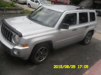 2009 Jeep Patriot Fourgonnette, fourgon