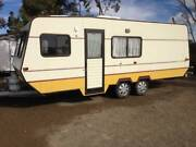 CARAVAN VISCOUNT REGENCY GT CLASSIC 21FT TANDEM   ANNEXE Gilles Plains Port Adelaide Area Preview