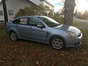 2008 Ford Focus Sedan SES