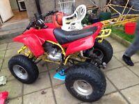 2x 250cc quads