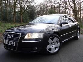 2007 (56) Audi A8L 4.2TDI (321 bhp) Auto Quattro SE (LWB) F/S/HISTORY STUNNING!!
