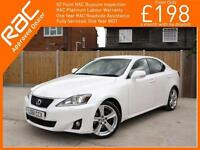2011 Lexus IS IS250 2.5 Advance 6 Speed Auto Sat Nav Rear Cam Bluetooth Full Lea