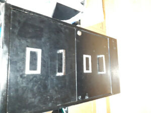 File cabinet in black, light weight aluminum material Asking $10