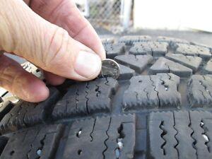 Winter Tires 195/60/15 Kitchener / Waterloo Kitchener Area image 4