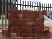 Garden wall bricks £700 per thousand imperial red stock