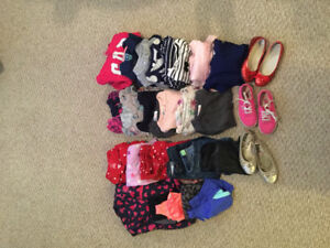 Lot of Fall/Winter Girls Clothes size 5 & 6