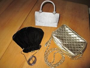Trio of Evening / Wedding Bags $5 TOTAL for all 3