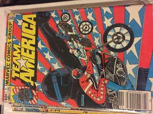 Complete Run of Team America Comics