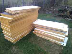 Insulated door cut outs