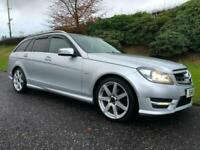 2011 Mercedes-Benz C220 Estate Amg Sport Blue Efficiency Automatic