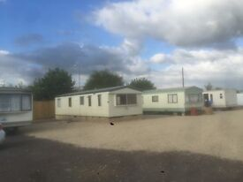 2 bedroom static caravan for rent