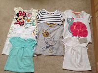 Bundle of 7 tee shirts 12-18 months