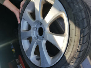 Looking to buy Rim with good use tire