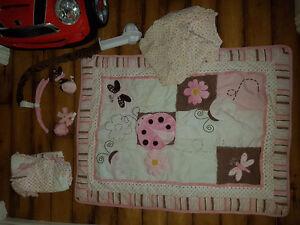 LadyBug Crib Bedding