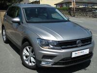 Volkswagen TIGUAN 4x4 2.0 TDI 150ps 4Motion AUTO DSG 7sp 2016-66 SE Navigation