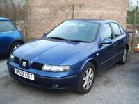 2003 Seat Toledo 1.9TDi 130 SE ** CLEARANCE CAR **