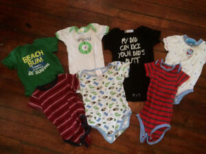 12-18 month boys shirts onesies and jumpers
