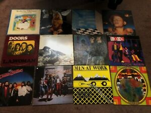 COLLECTION OF VINYL ROCK ALBUMS (53 IN TOTAL)