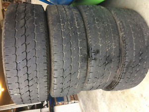 LT265/70R17 Nitto Dura Grappler Tires