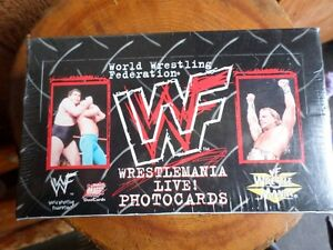 """1999 WWF 4""""x 6"""" (216 Photocards) """"SEALED"""" (VIEW OTHER ADS)"""