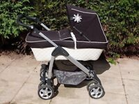 Nearly New Cross Sleepover Elegance travel System / Pram.